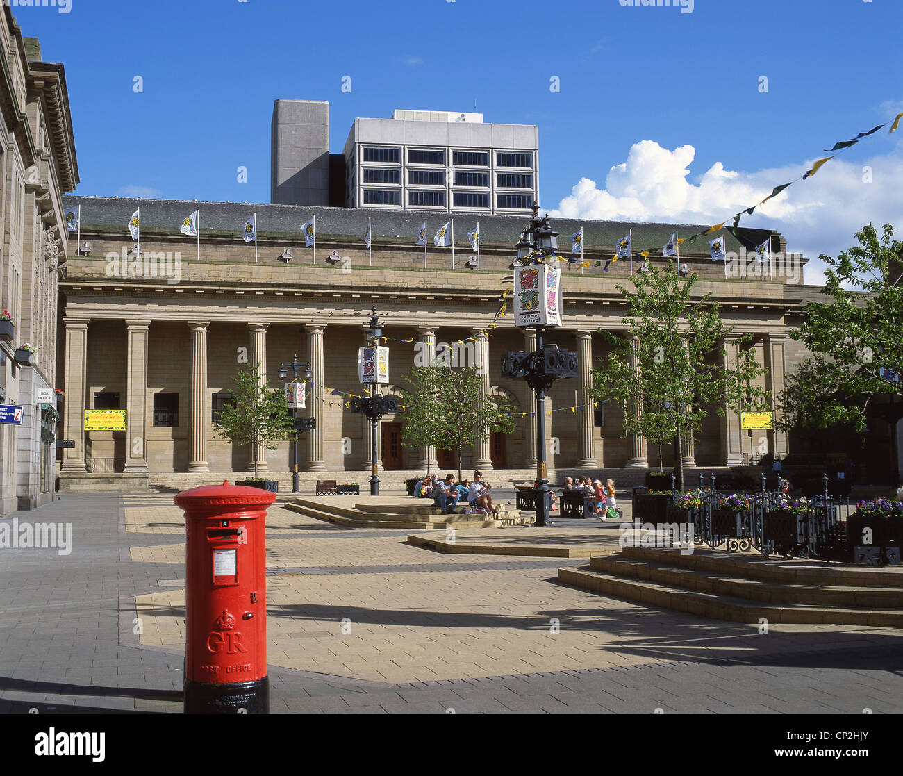 The Caird Hall, City Square, Dundee, Dundee City, Scotland, United Kingdom - Stock Image