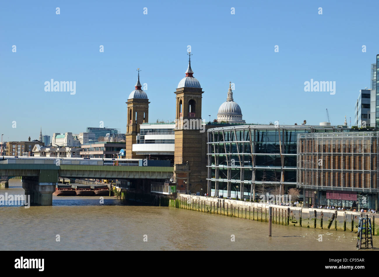 Cannon Street Station, London - Stock Image