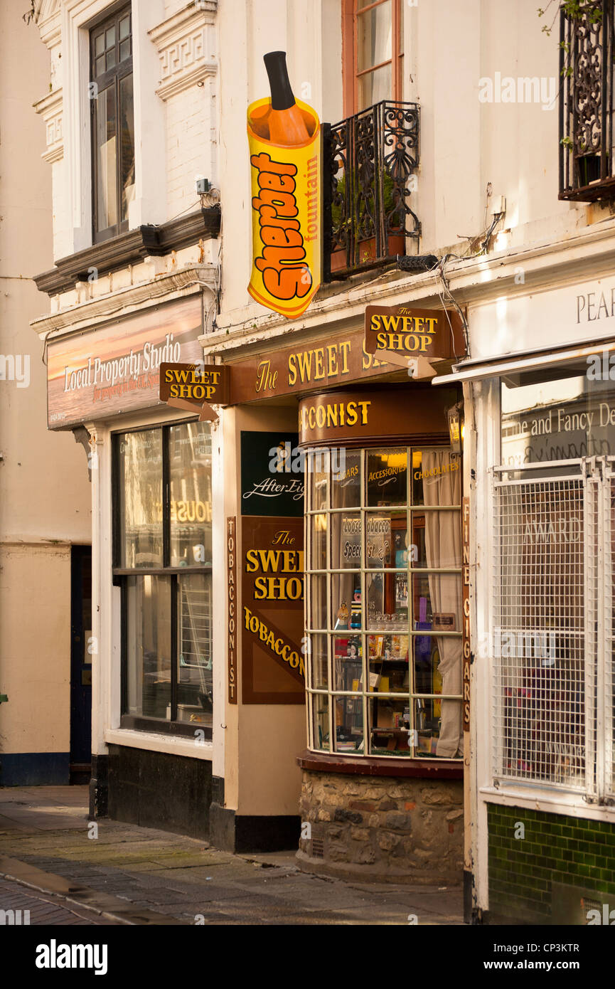 Sweet Shop in Hastings Old Town - Stock Image