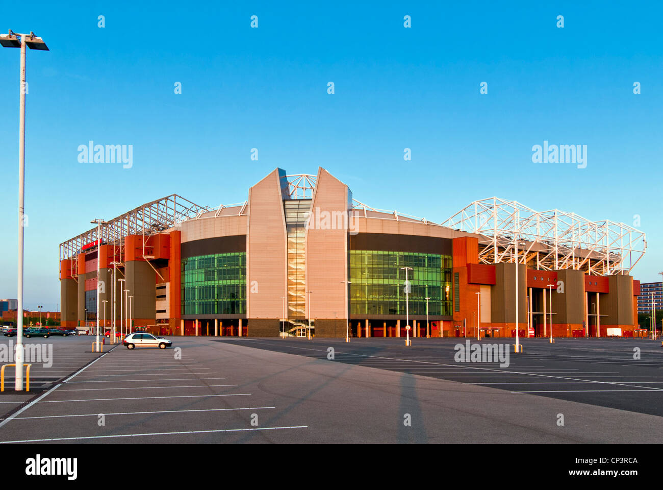 Manchester United football ground 'Old Trafford', Manchester, England, UK - Stock Image