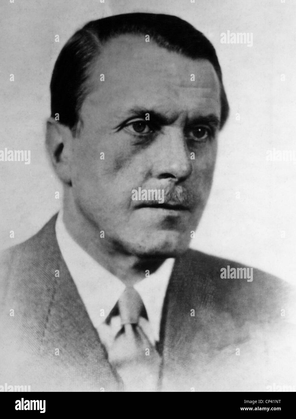 Brentano, Bernard von, 15.10.1901 - 29.12.1964, German writer, author, writers, authors, portrait, 1940s, , Additional - Stock Image