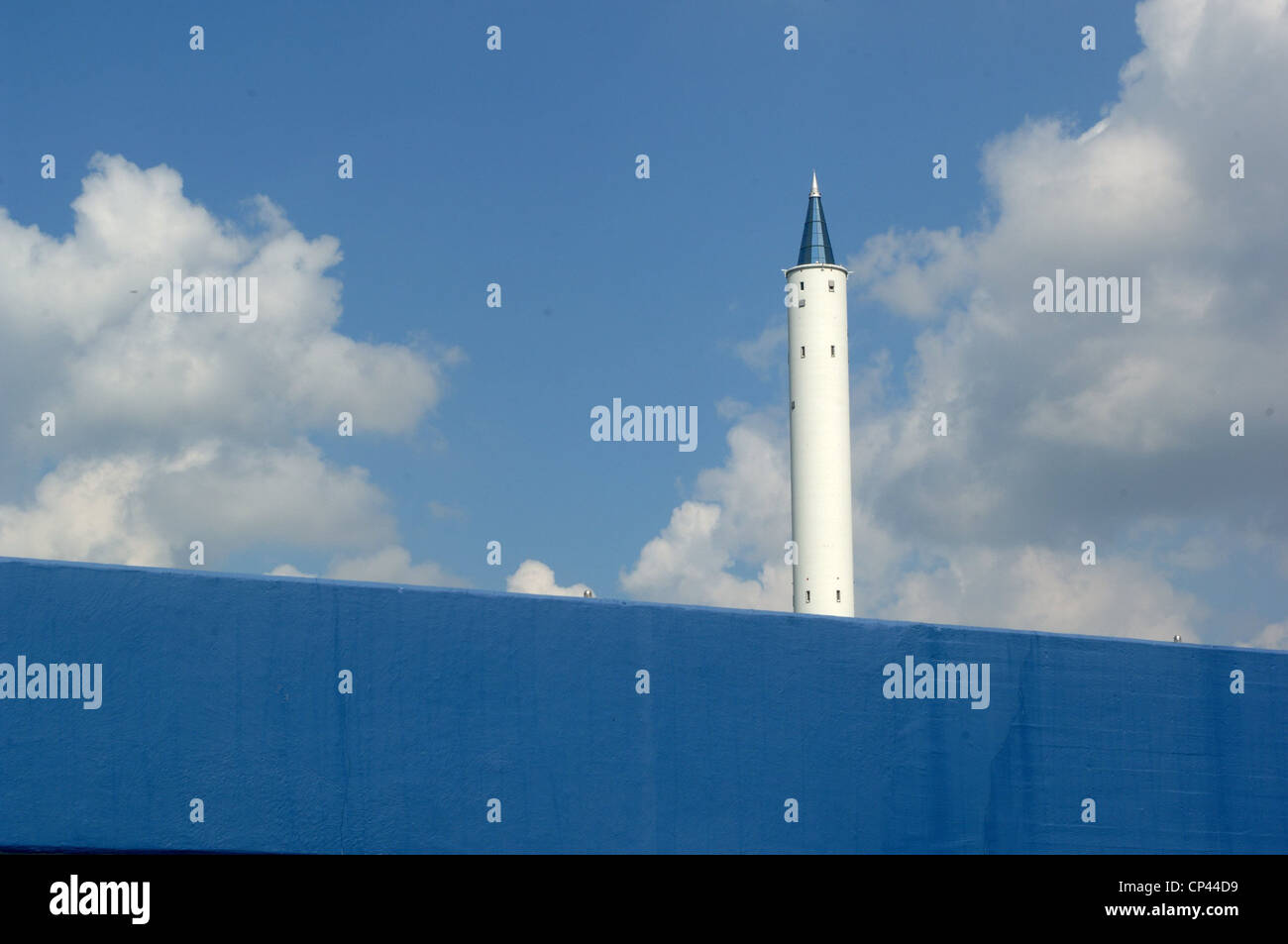 Germany Bremen Bremen. tower, 146 meters high, where experiments are conducted Zarma (Zentrums fur angewandte und - Stock Image