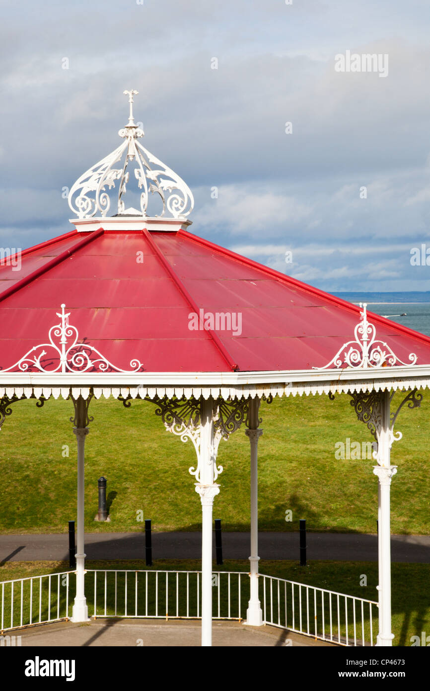Bandstand on Bow Butts St Andrews Fife Scotland - Stock Image