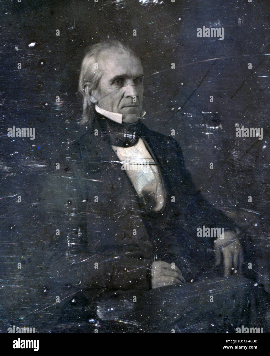 James K. Polk. 1849 - Stock Image