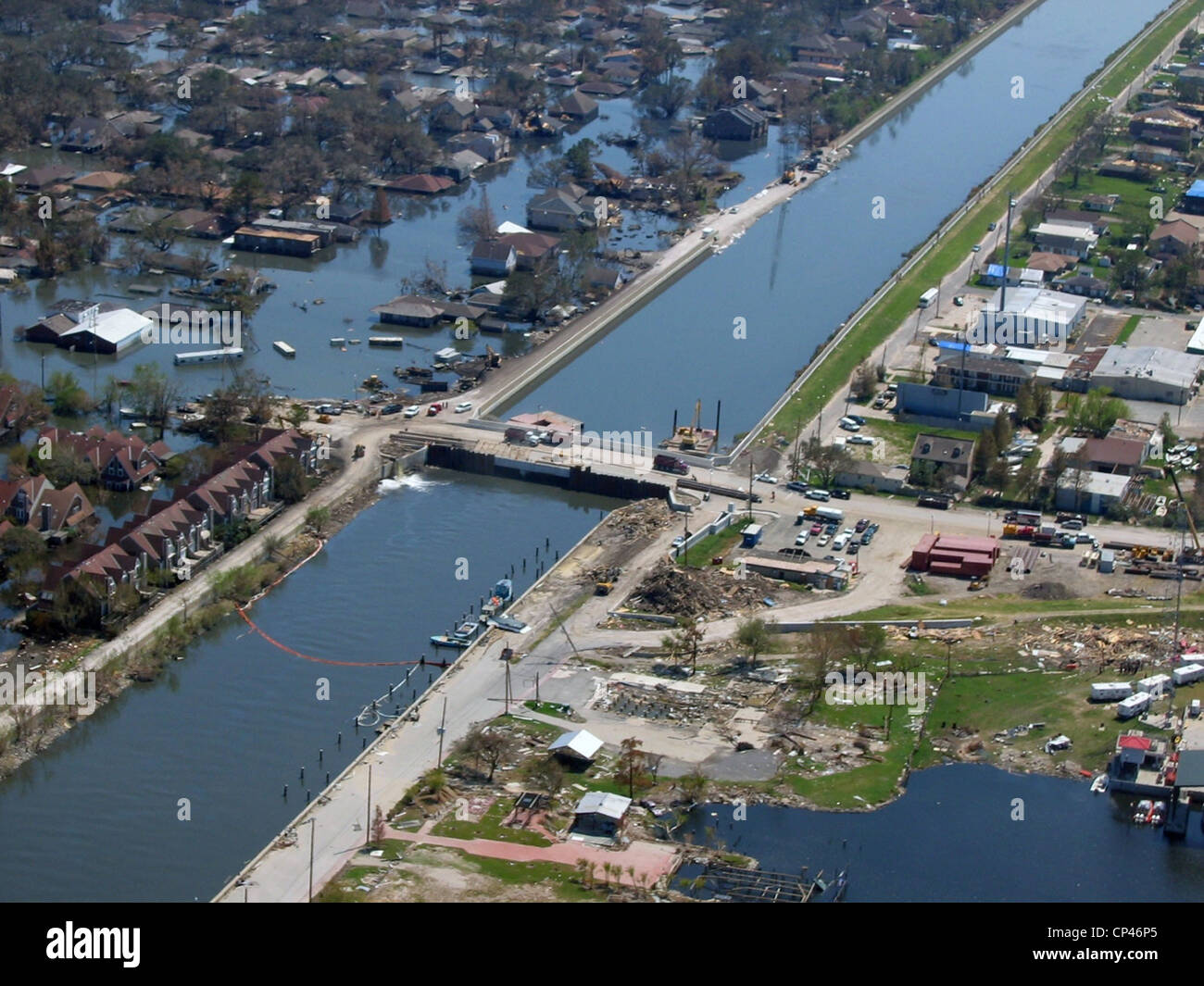 hurricane katrina and the levee system It's these vulnerabilities that keep engineers from describing the levee system as full protection — indeed its official name is the hurricane & storm damage risk reduction system.