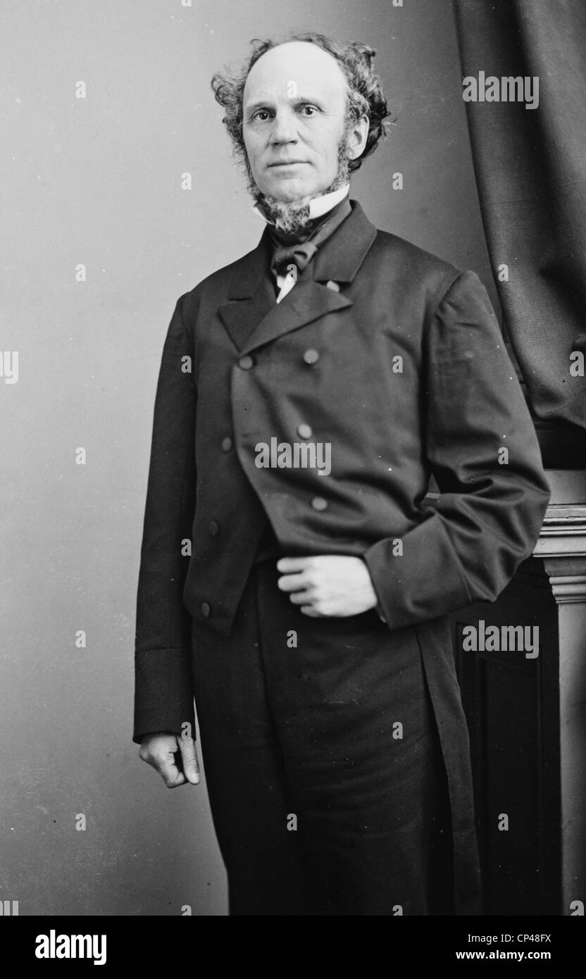 Horatio Seymour 1855-1865 - Stock Image