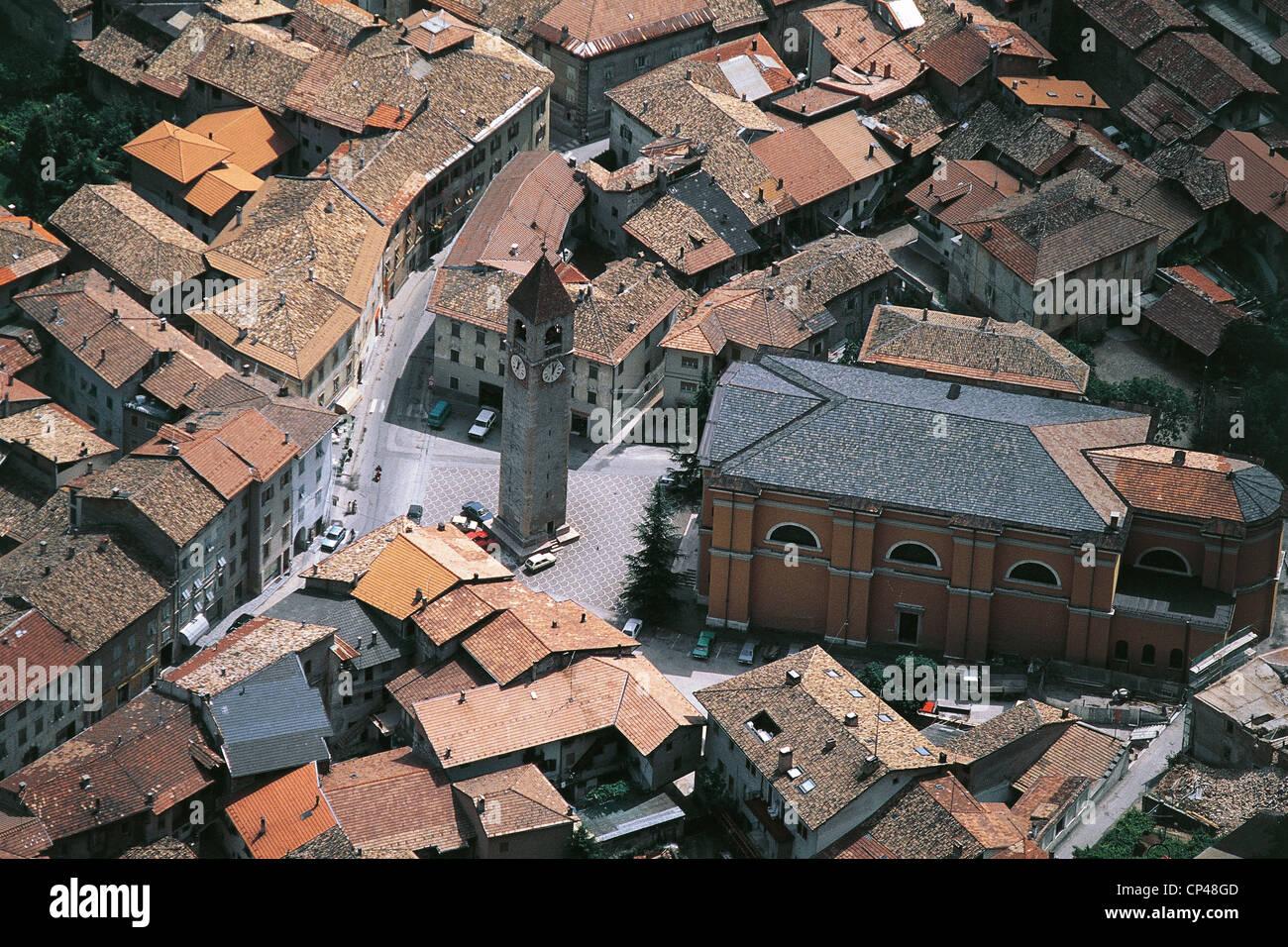 TRENTINO San Martino di Castrozza Stock Photo