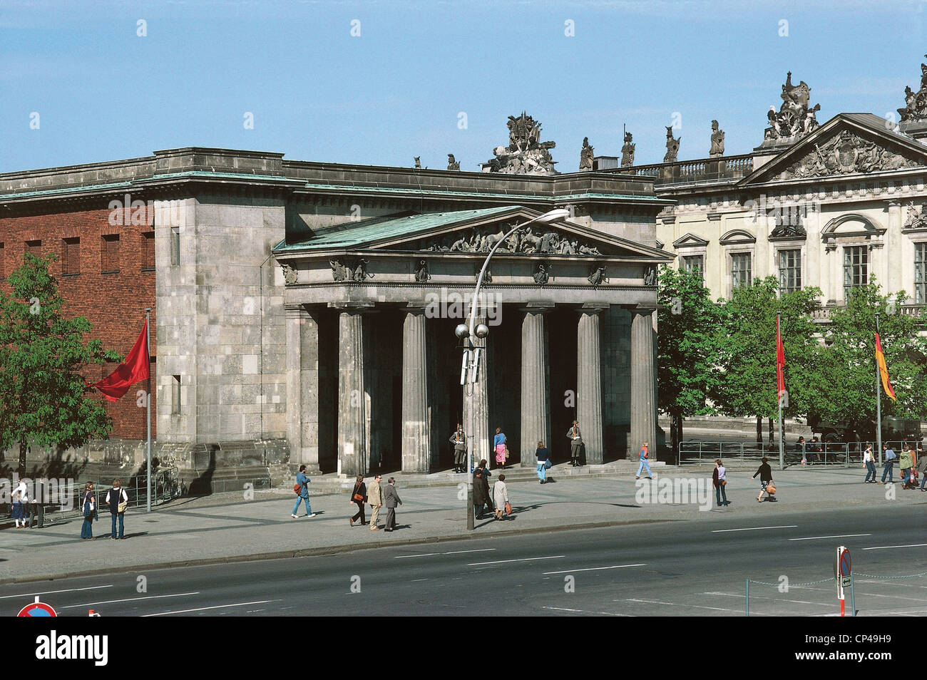 Germany - XX century - the German Democratic Republic - East Berlin. The Neue Wache - Stock Image