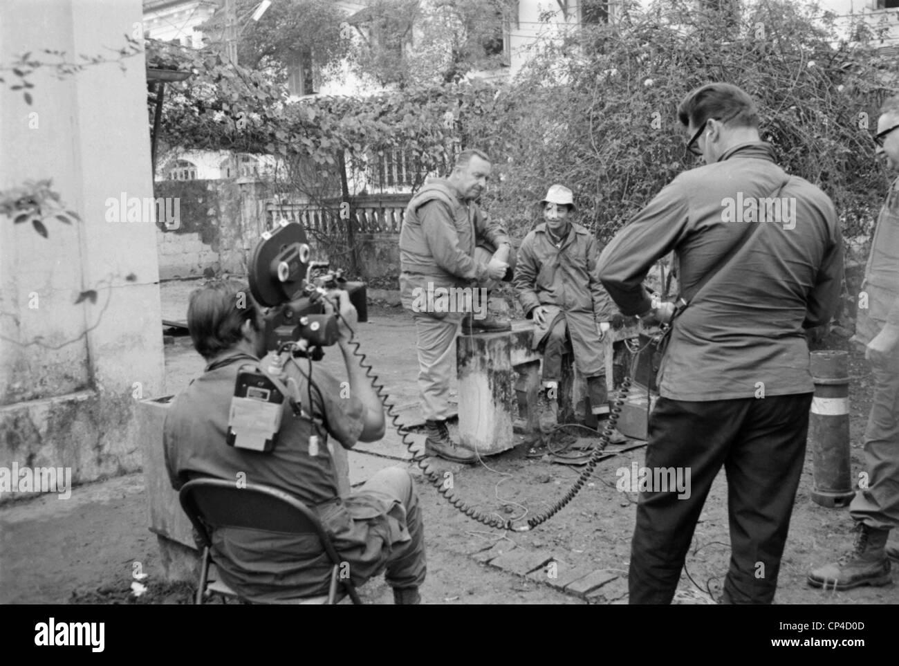 Vietnam War Tet Offensive Walter Cronkite Of Cbs