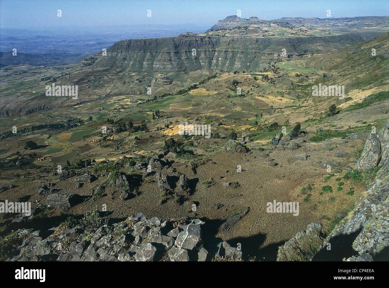 Ethiopia - Welo - Around Weldiya - Stock Image