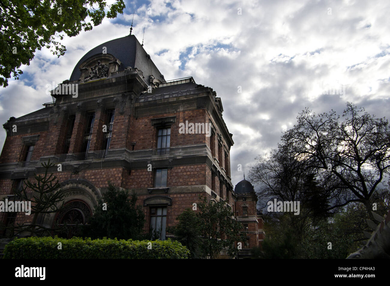 Museum of natural history of Paris. Outside building. - Stock Image