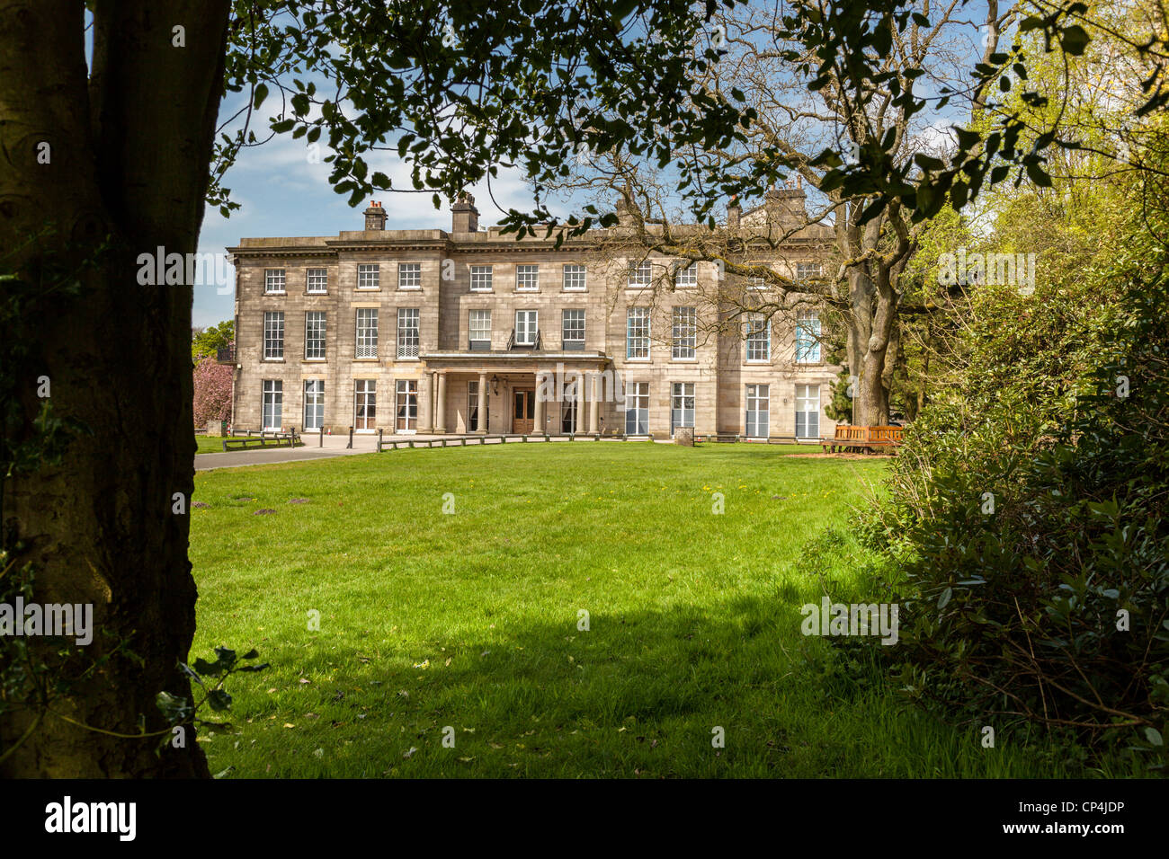 Haigh Hall in Haigh Country Park Wigan. - Stock Image