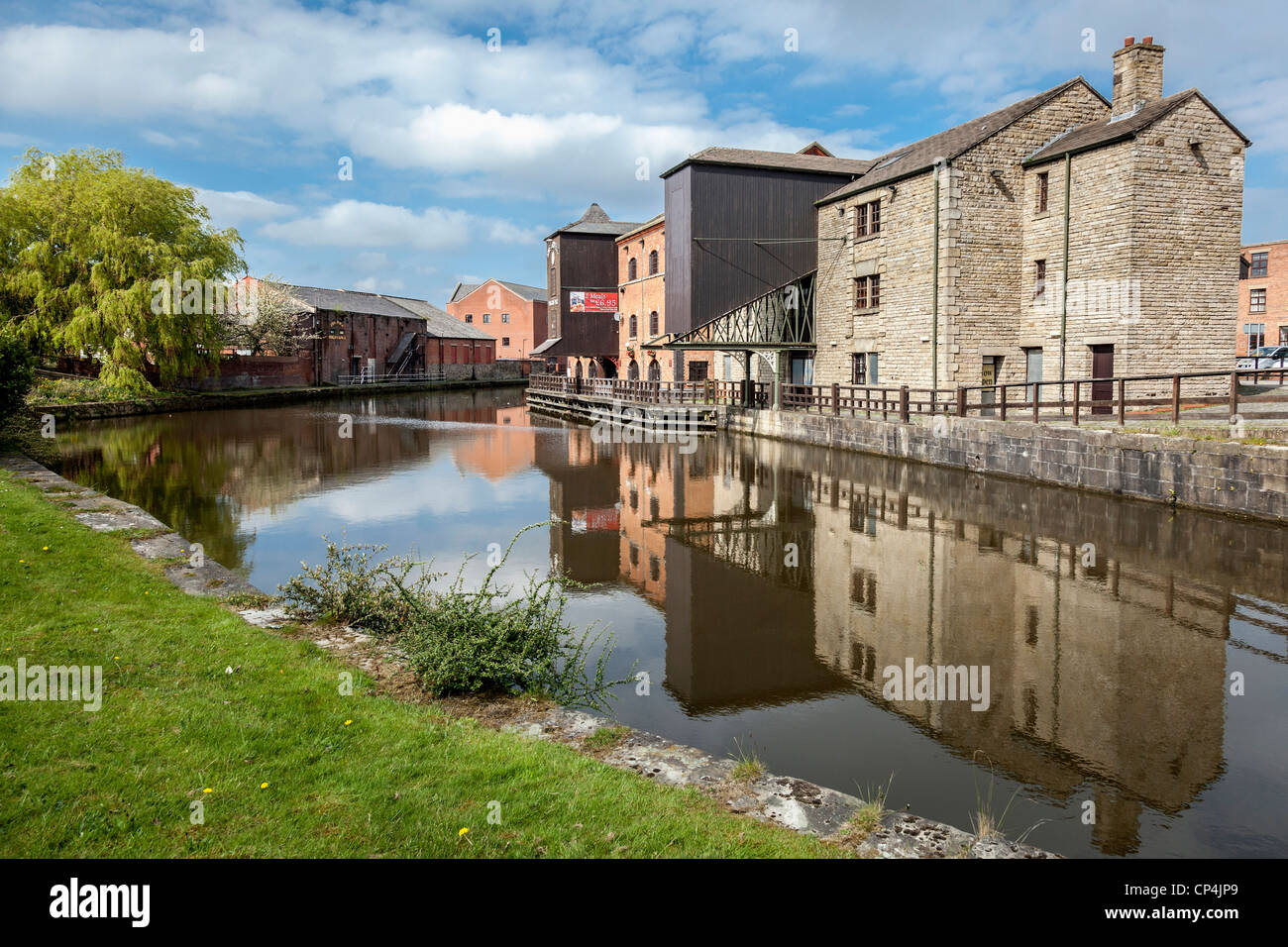 Wigan Pier made famous the book by George Orwell 'The Road to Wigan Pier' - Stock Image