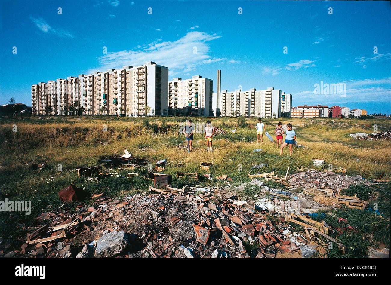 LOMBARDY LONDON PERIPHERY FOURTH Oggiaro - Stock Image