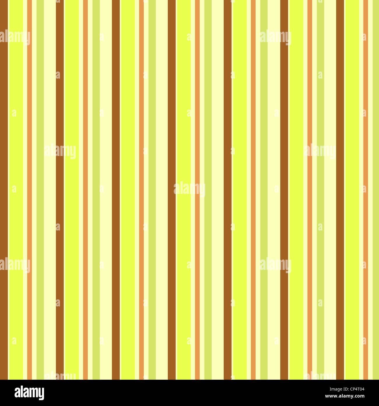 Trendy stripes pattern in yellow, green and brown colors Stock Photo