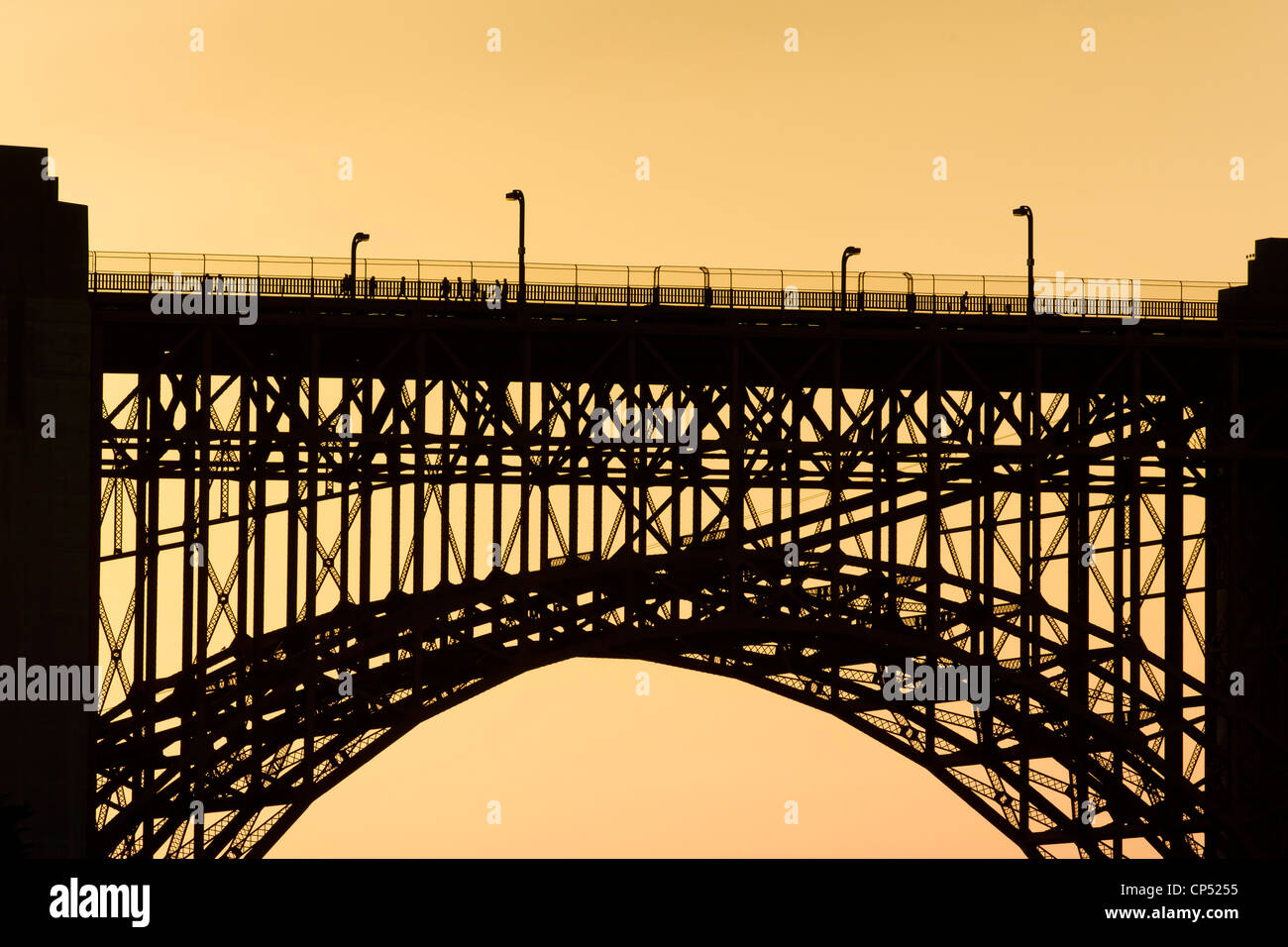 Bridge support - Stock Image