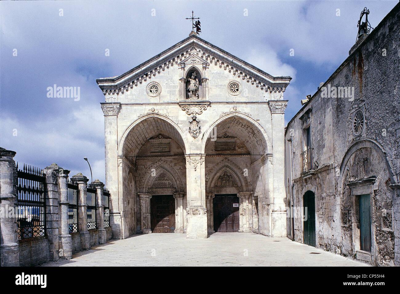 Puglia Monte Sant Angelo Fg Sanctuary Of San Michele Stock