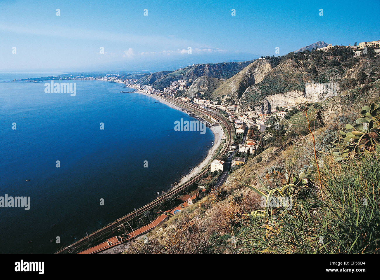 Sicilia giardini naxos stock photo: 48058000 alamy