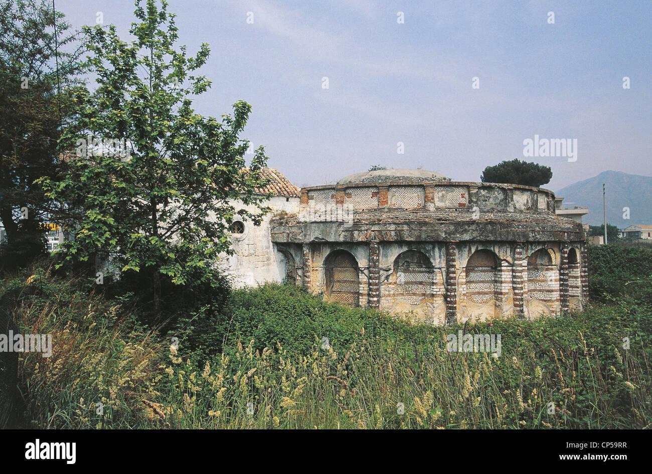 Campania, Santa Maria Capua Vetere (CE). OLD PRISON Stock Photo