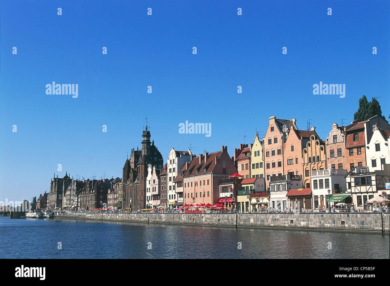 POLAND Gdansk Pomerania - Stock Image