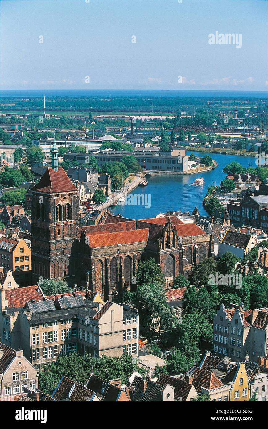 POLAND, Pomerania. GDANSK, THE CATHEDRAL - Stock Image