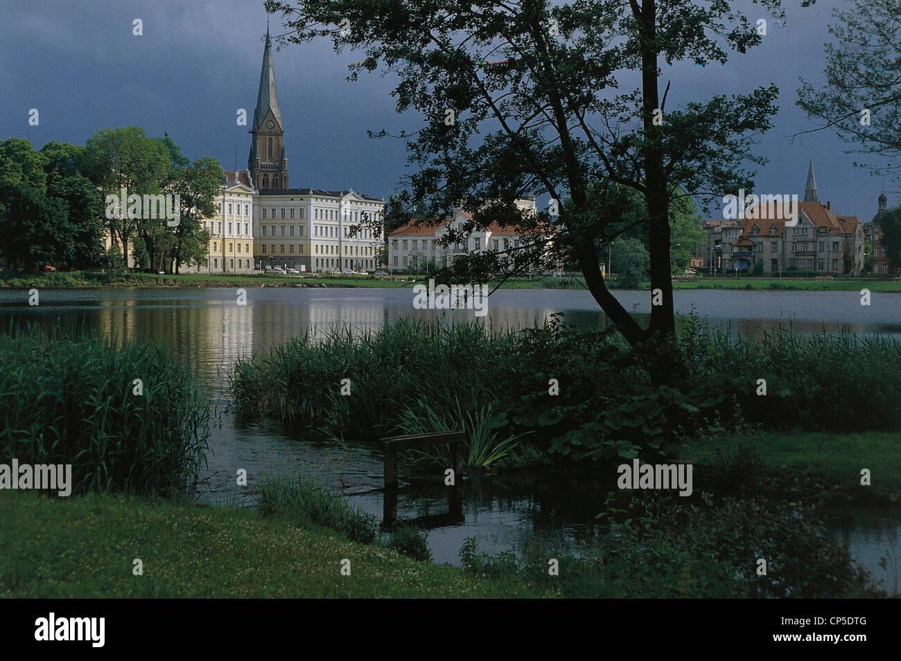 Germany - Mecklenburg Western Pomerania - Schwerin - Stock Image