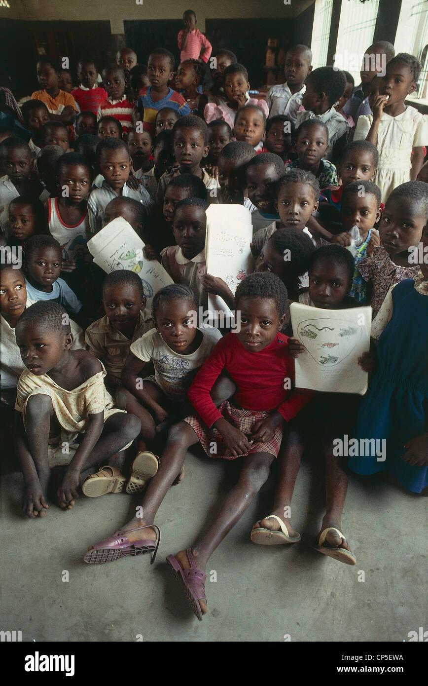 Periphery Of Zaire Kinshasa - Stock Image