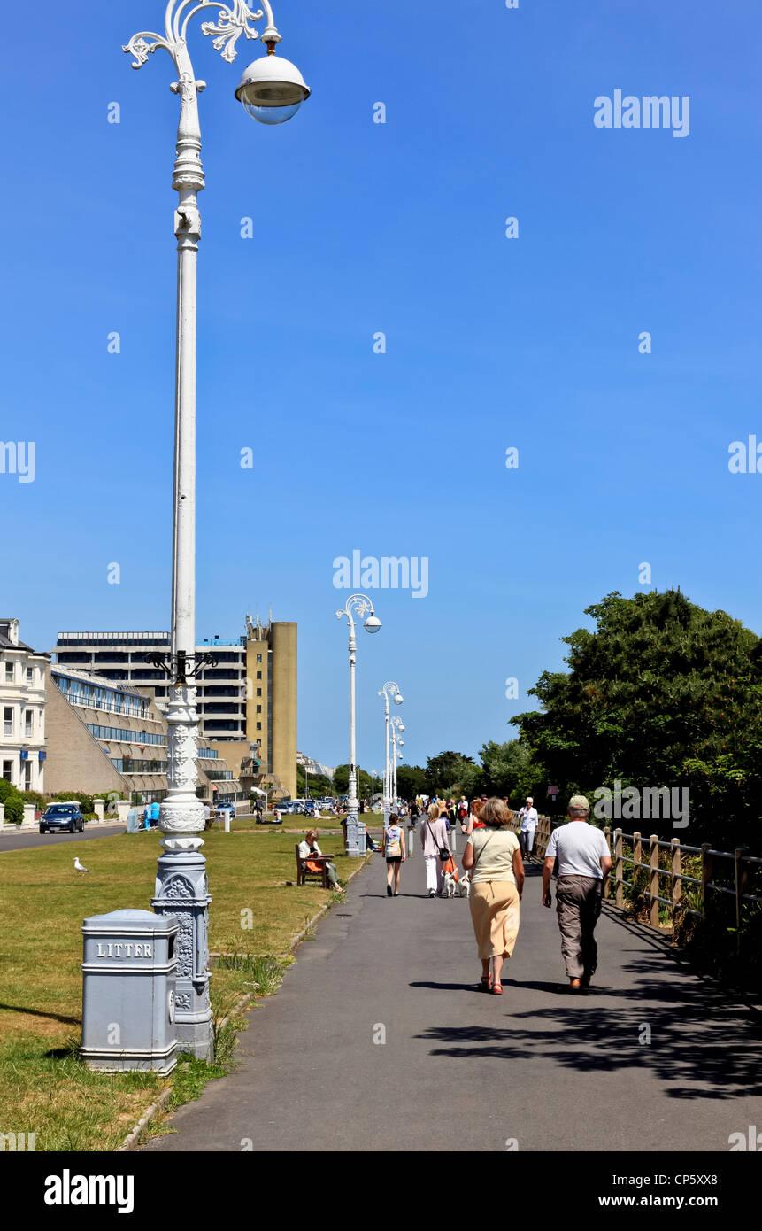 3829. The Leas, Folkestone, Kent, UK - Stock Image
