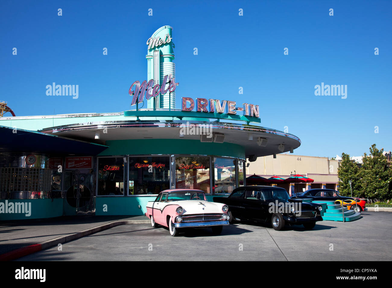 Mets drive-in at Disney's Hollywood Studios - Stock Image