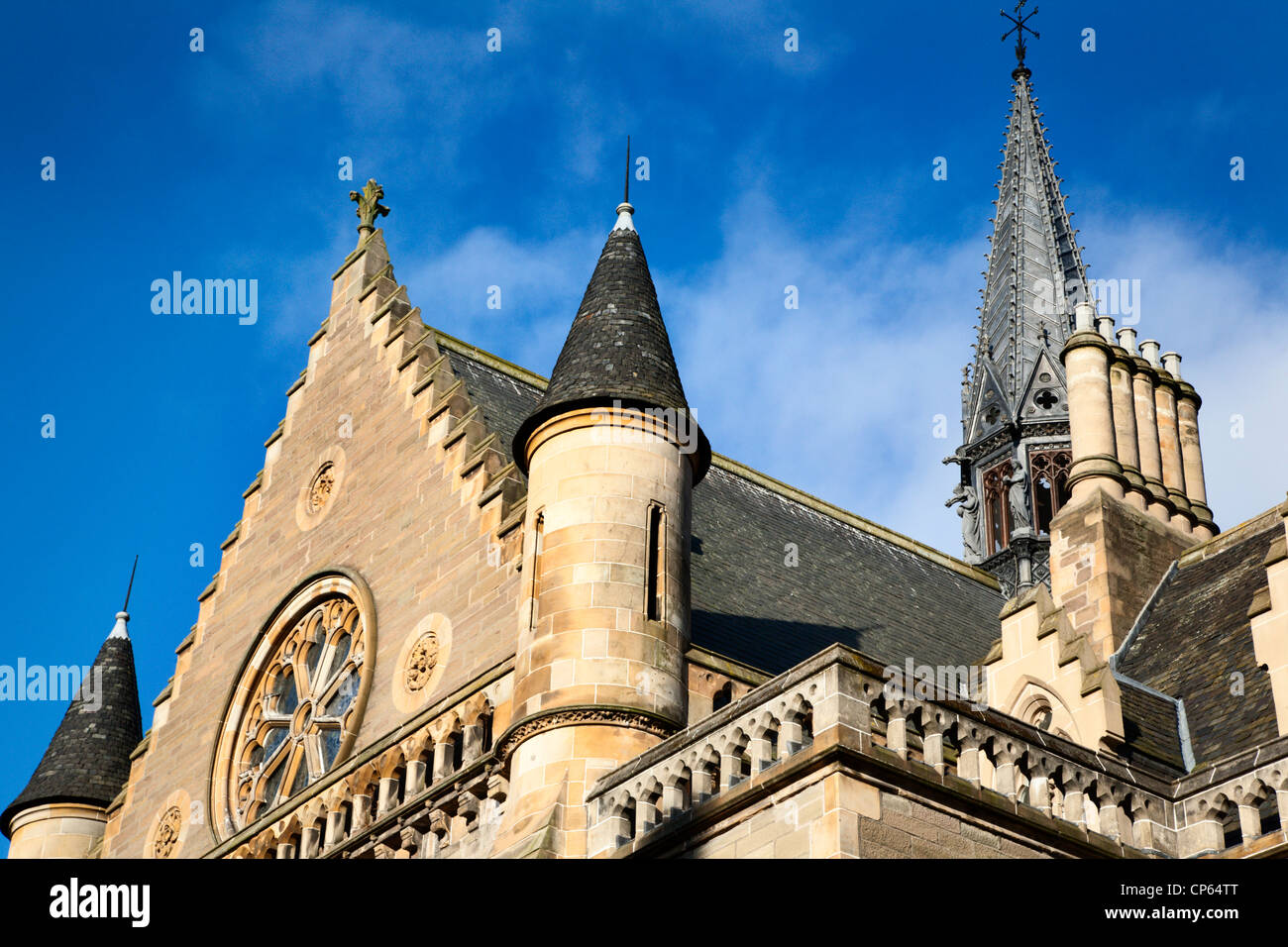 The McManus Art Gallery and Museum Dundee Scotland - Stock Image