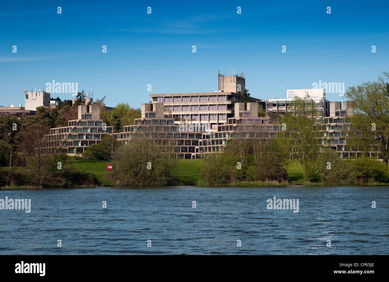 university of east anglia, uea, norwich, norfolk, england - Stock Image