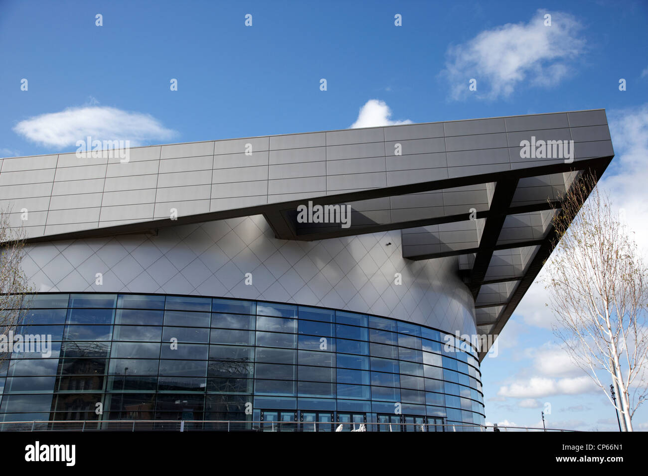 emirates arena former Commonwealth arena and Sir Chris Hoy Velodrome Glasgow Scotland UK - Stock Image