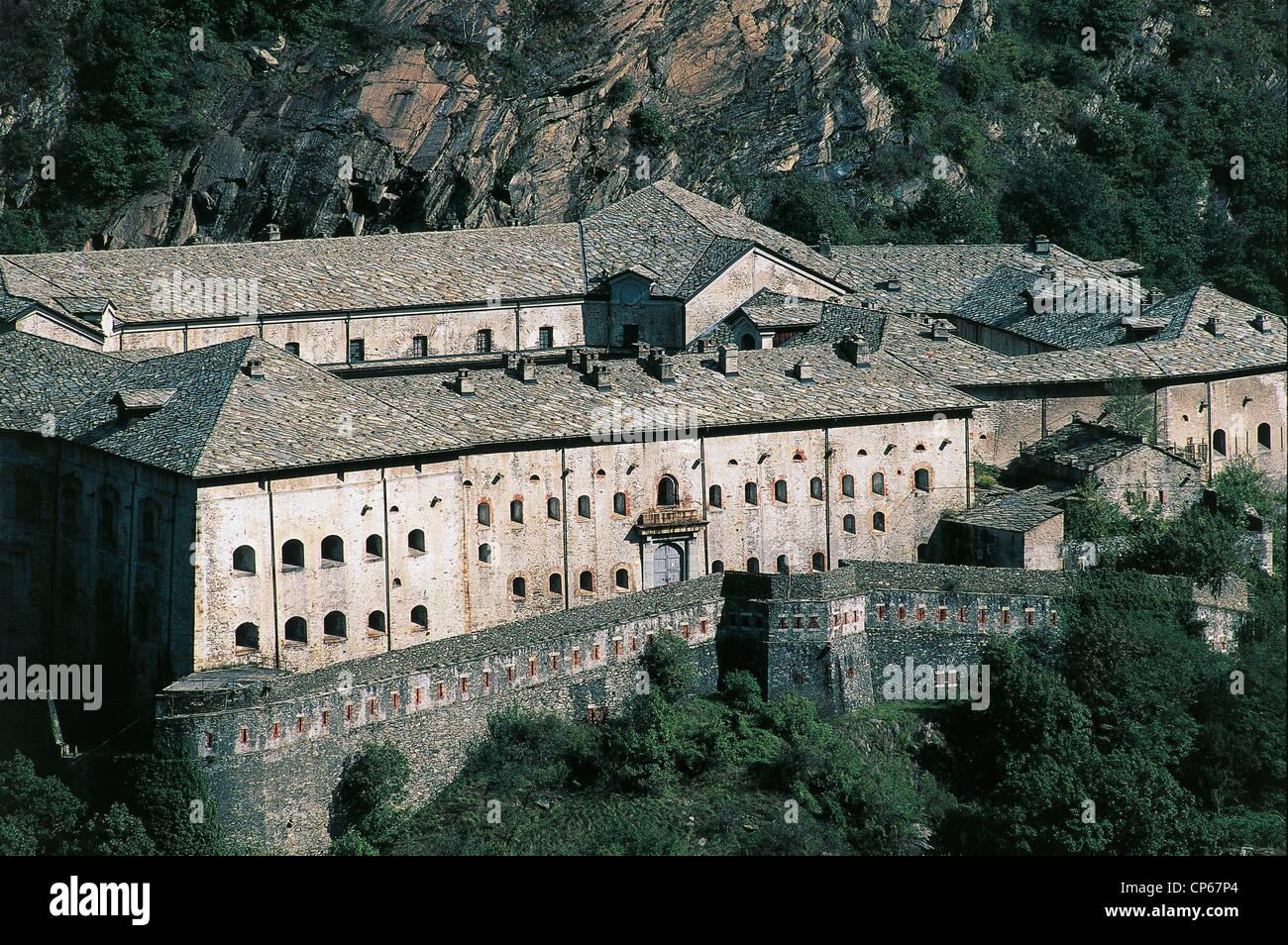 Valle D'Aosta Bard Strong - Stock Image