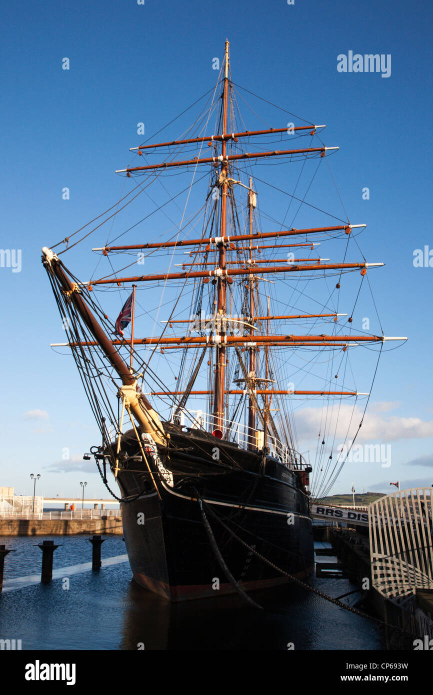RRS Discovery at Discovery Point Dundee Scotland Stock Photo