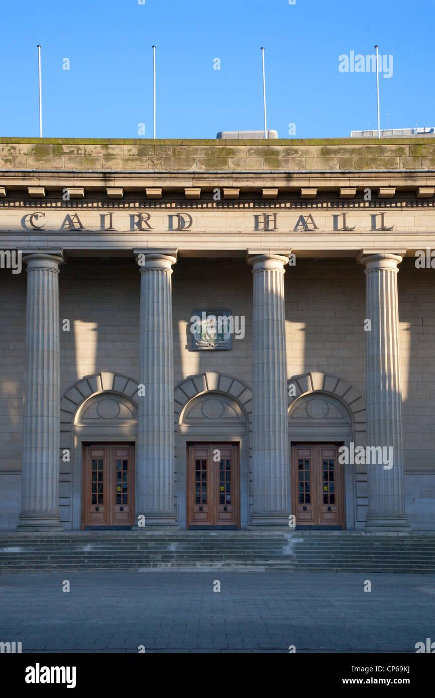 Caird Hall Dundee Scotland - Stock Image