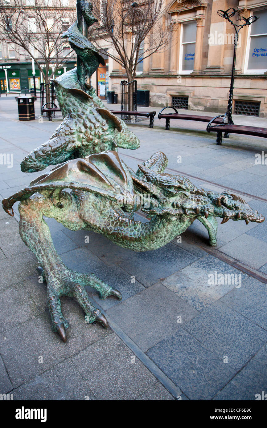 The Dundee Dragon Dundee Scotland - Stock Image