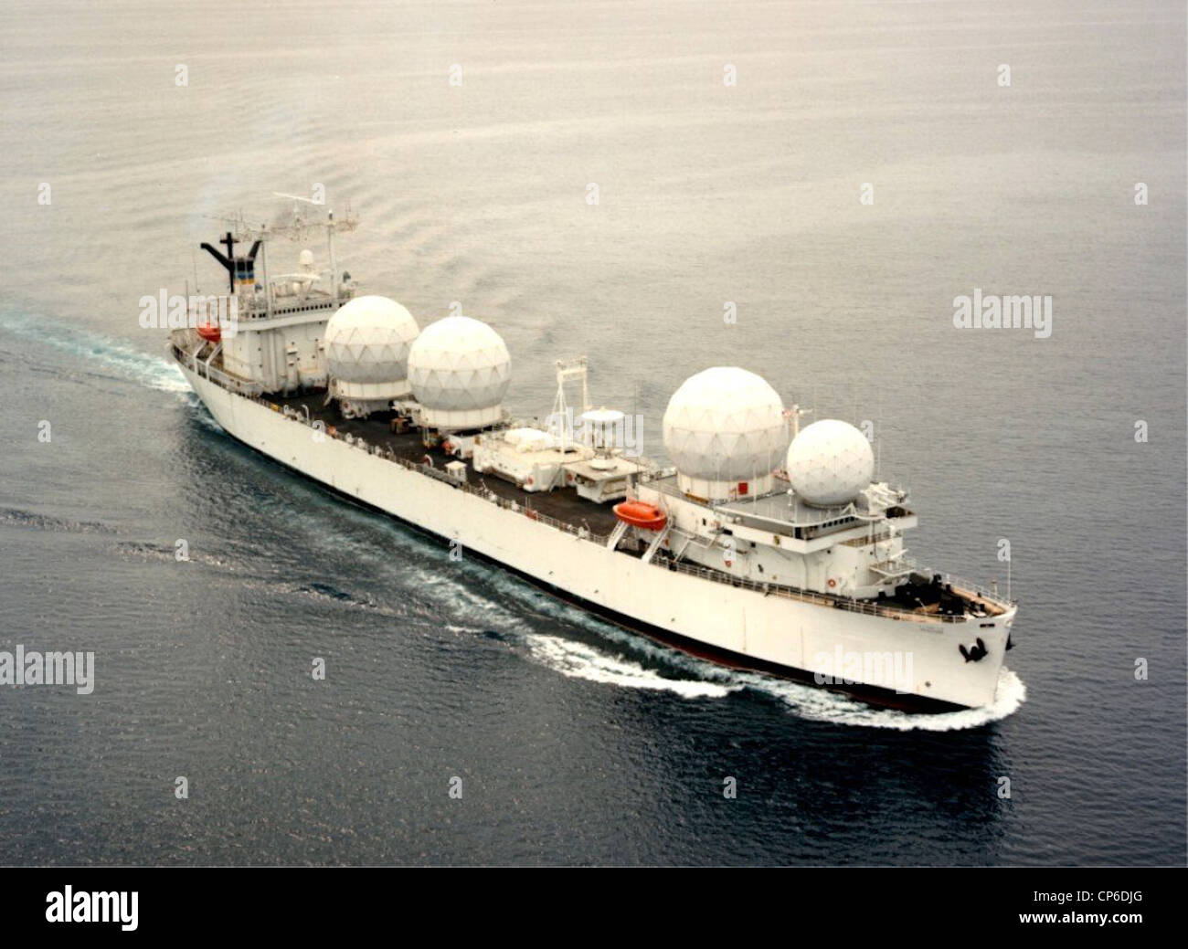 USNS Redstone (T-AGM-20) Stock Photo