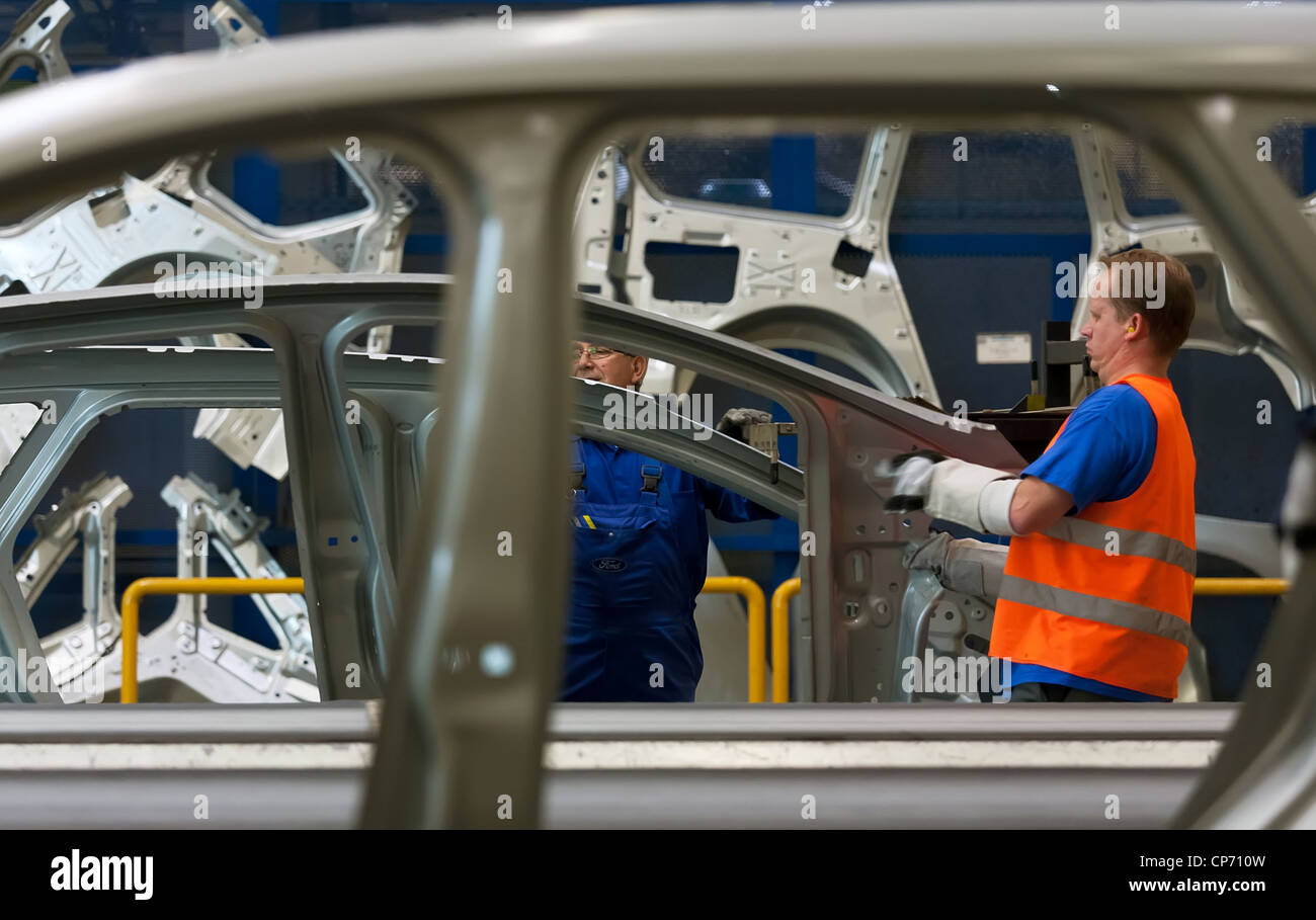 Ford Factory Stock Photos Amp Ford Factory Stock Images Alamy