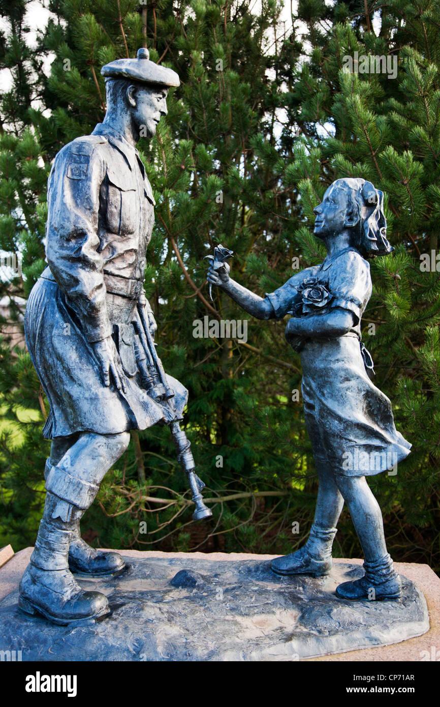 51st Highland Divison War Memorial Perth Perth and Kinross Scotland - Stock Image