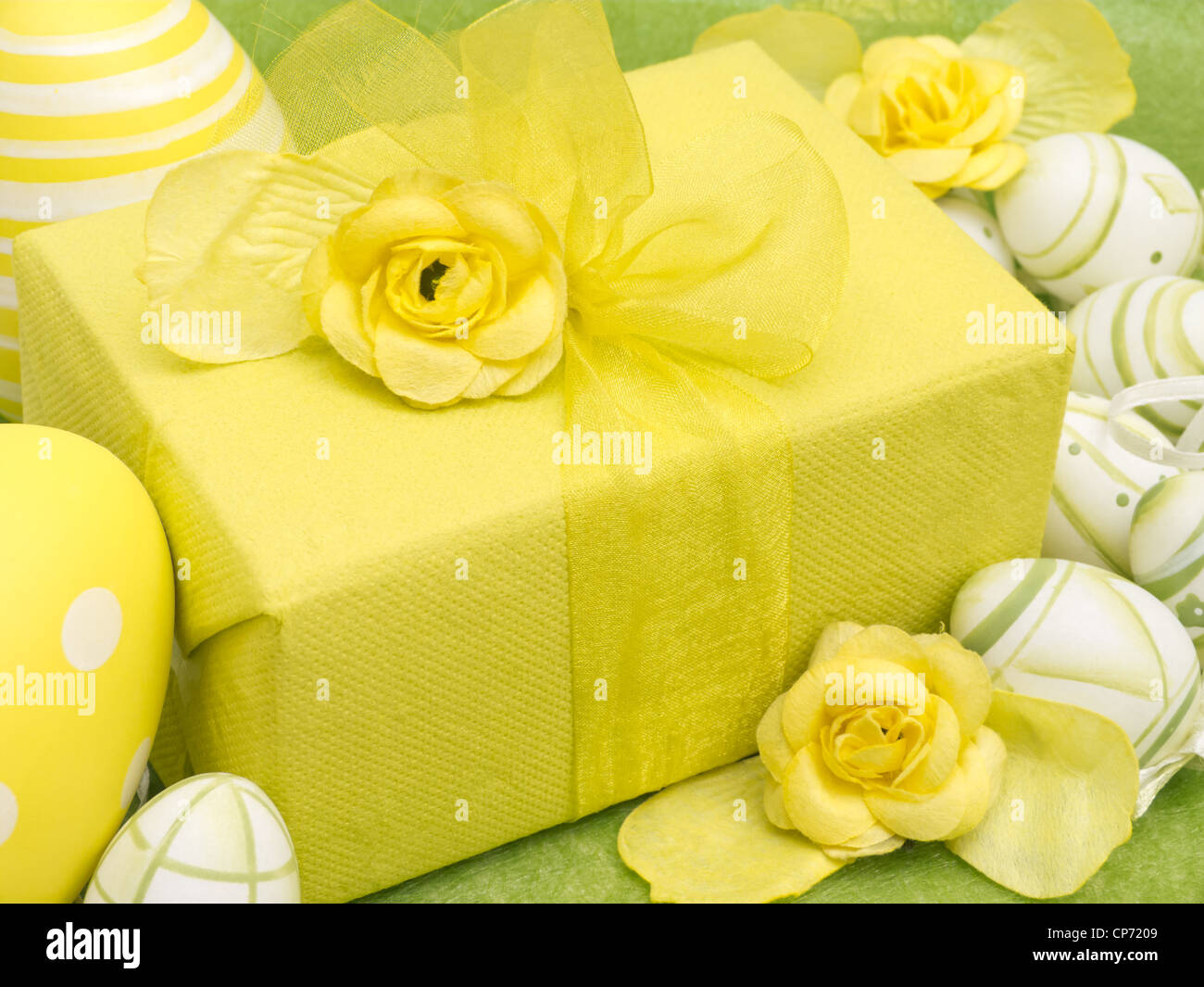 Easter Present - Stock Image