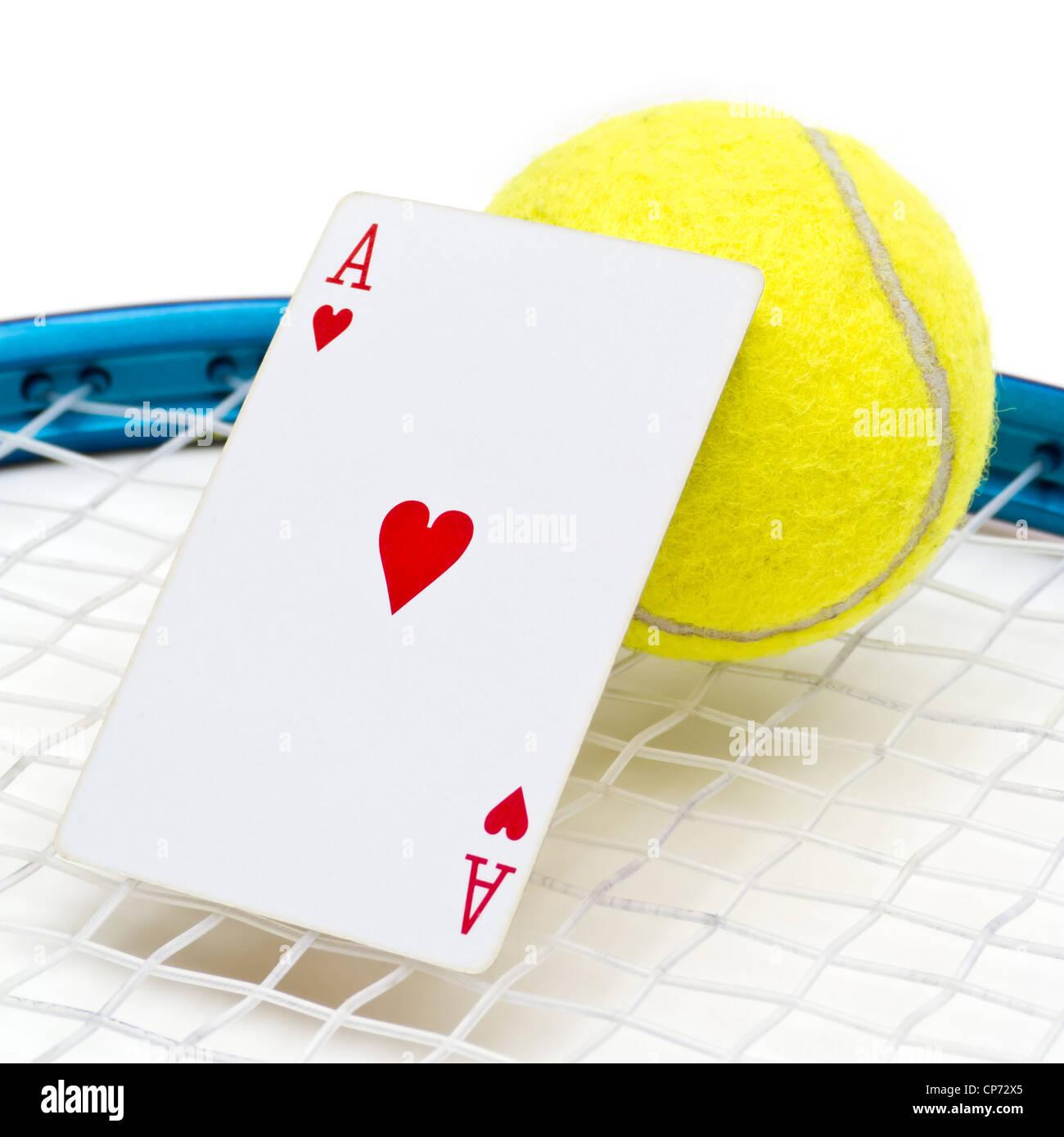 Tennis Ace - Stock Image