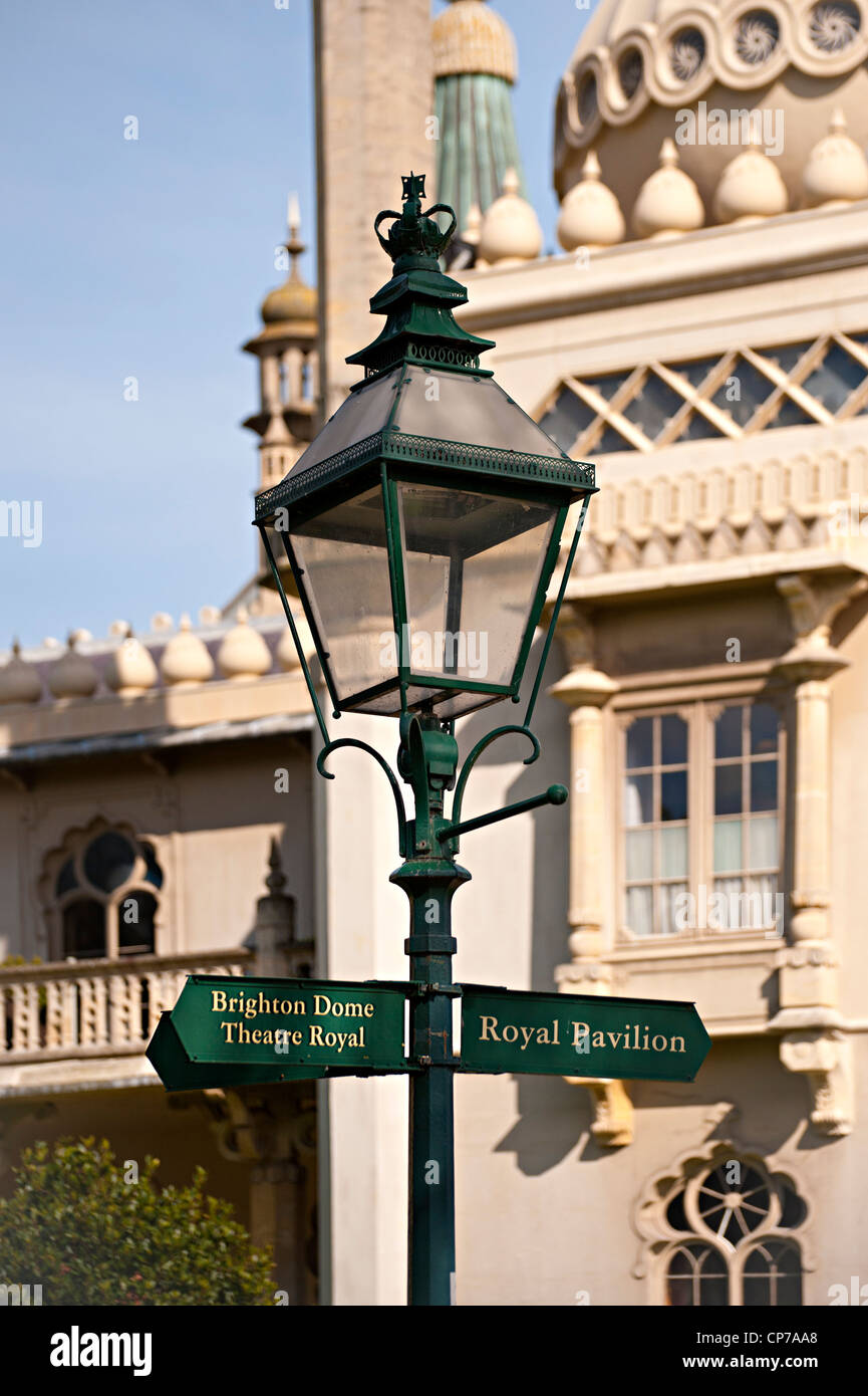 lamp post direction sign signs stock photos lamp post direction