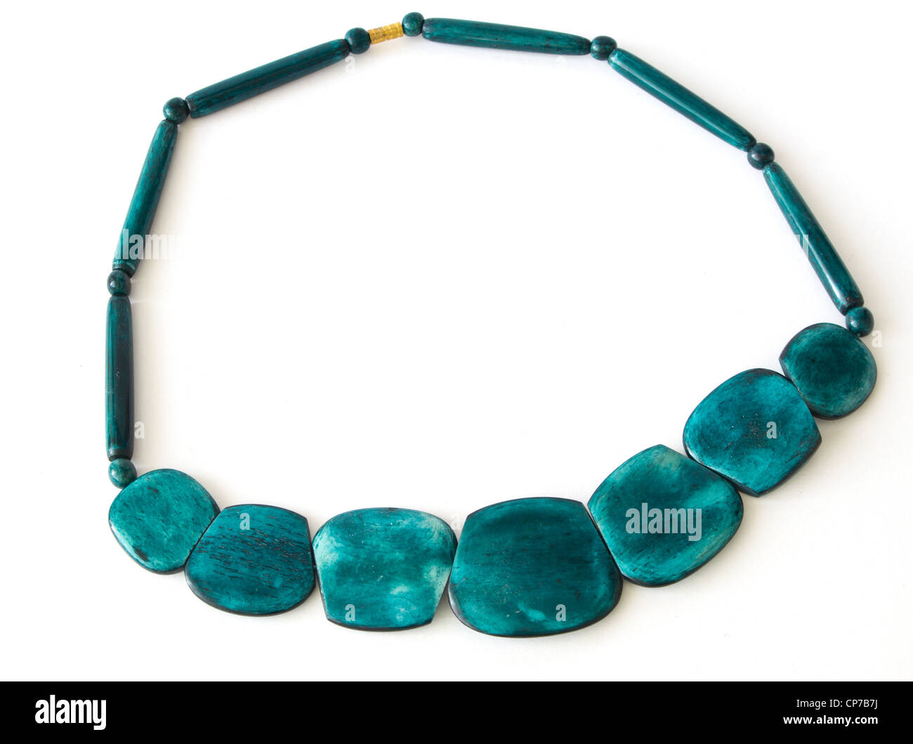 coconut necklace - Stock Image