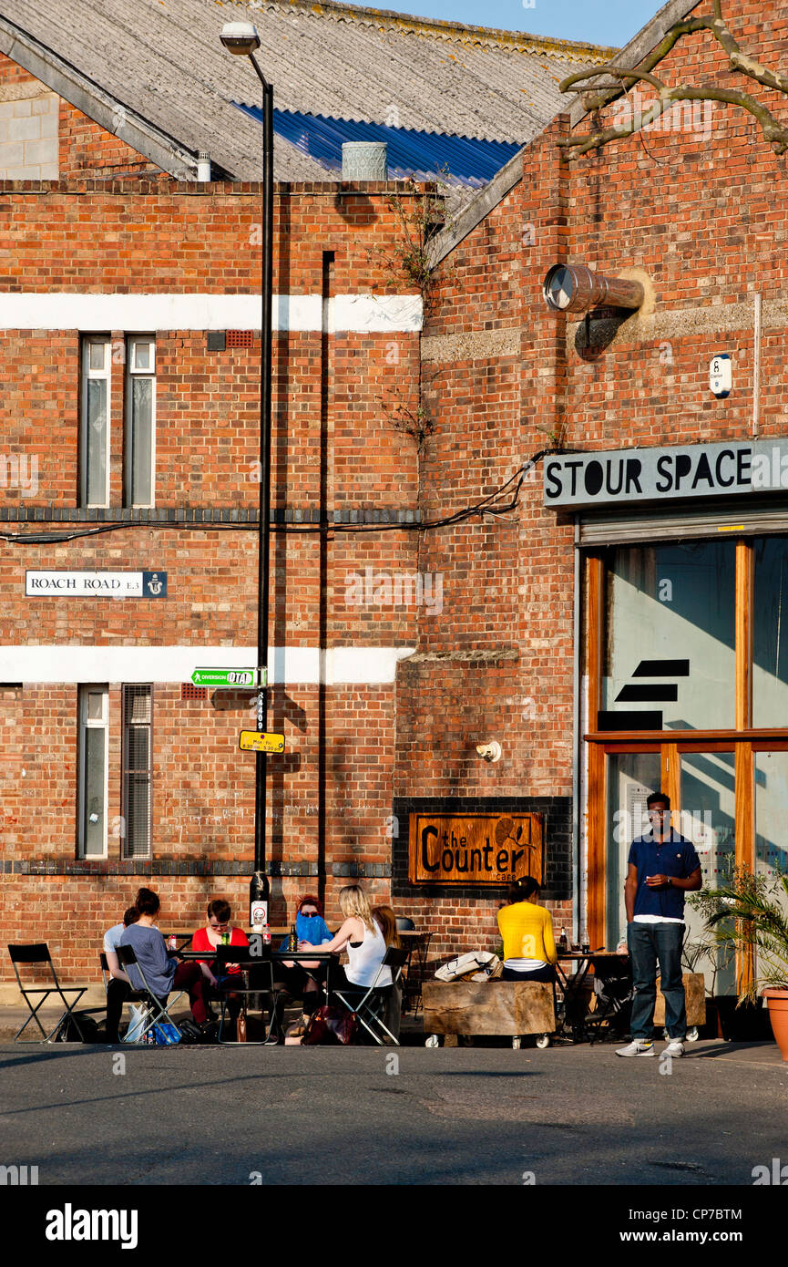 The Counter Cafe, Hackney Wick, London, United Kingdom - Stock Image