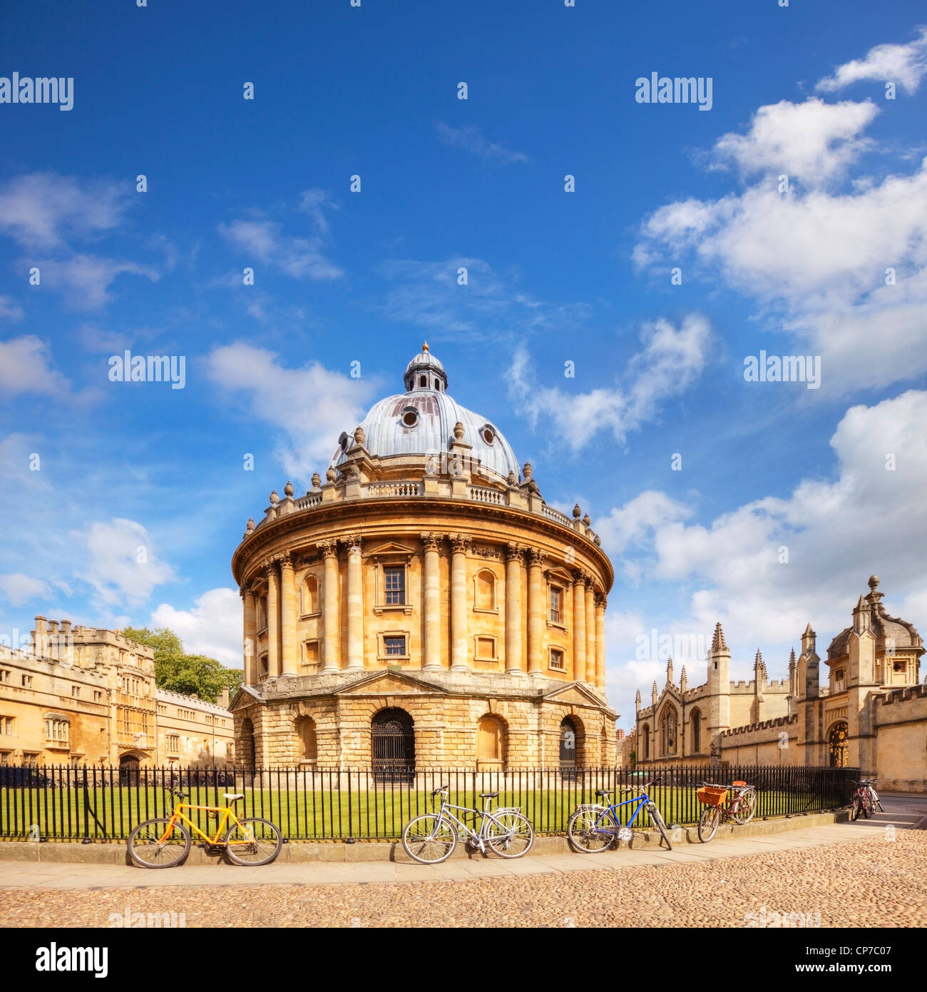 The Radcliffe Camera was built, in the Palladian Style, between 1737 and 1749 to house the Radcliffe Science Library - Stock Image