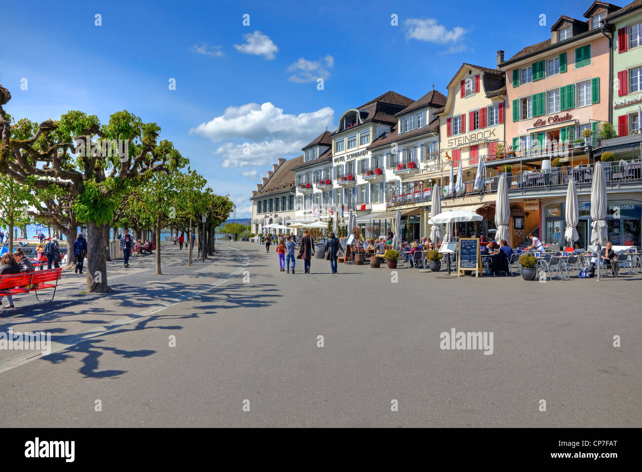 Rapperswil, Rapperswil-Jona, St. Gallen, Switzerland - Stock Image