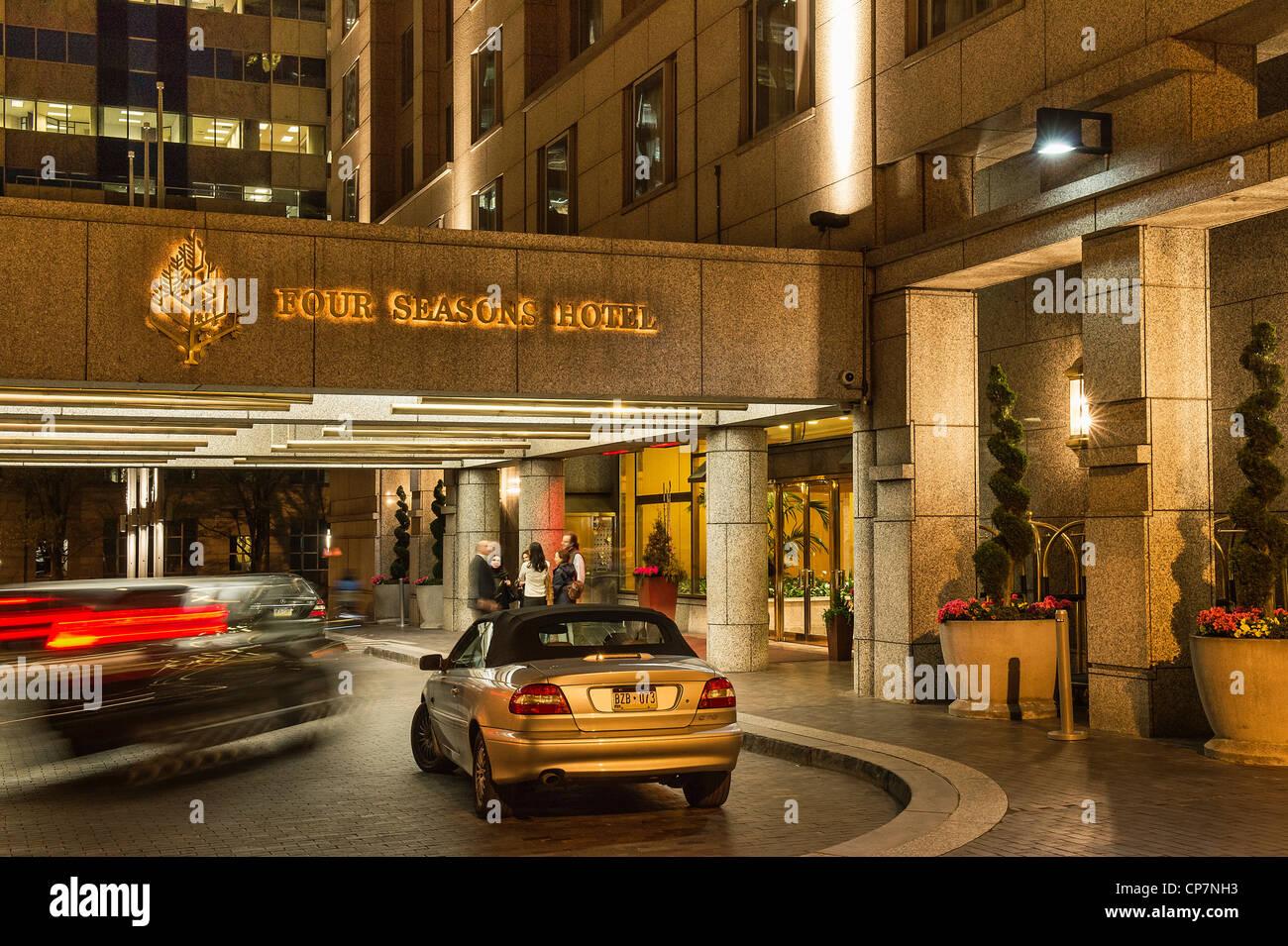 The Four Seasons Hotel, Philadelphia, Pennsylvania, USA Stock Photo