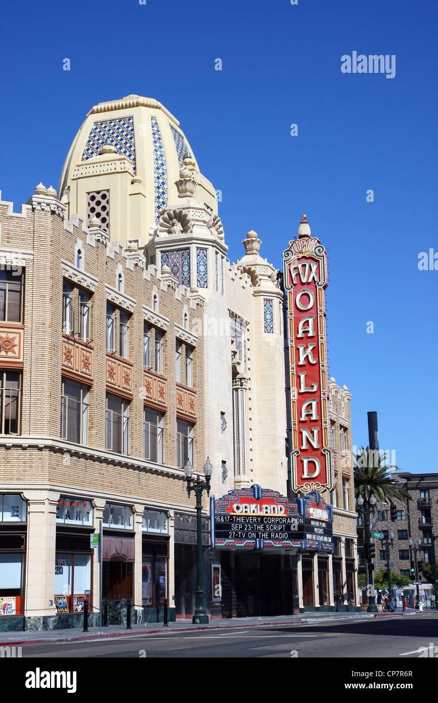 FOX THEATRE MUSIC VENUE 06 October 2011 - Stock Image