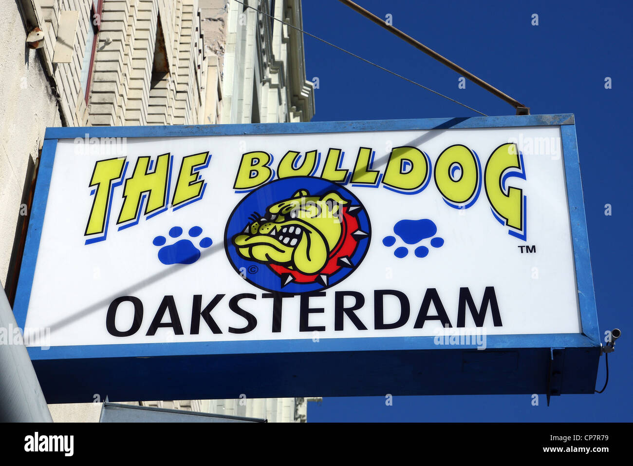 THE BULLDOG COFFEESHOP CANNABIS COFFEESHOP 06 October 2011 - Stock Image