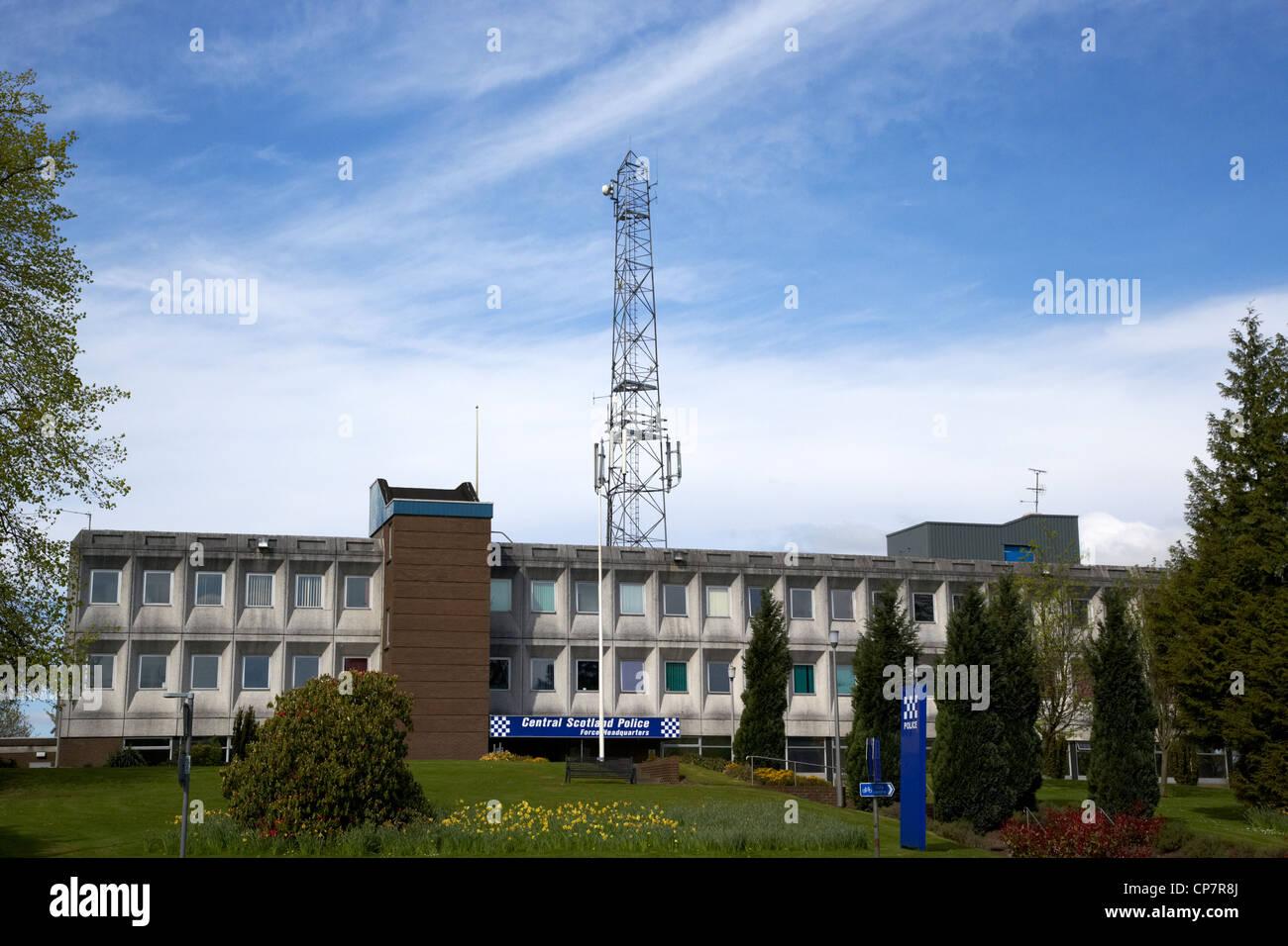 central scotland police force headquarters stirling Scotland UK - Stock Image
